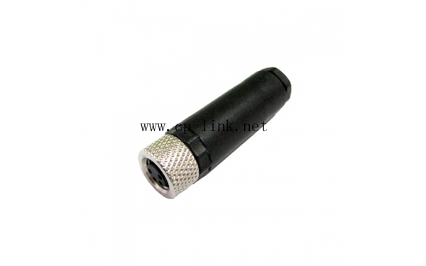 m8 4 pin female assembly connector shenzhen cp link. Black Bedroom Furniture Sets. Home Design Ideas