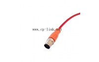 M12 5 pin male colored cable